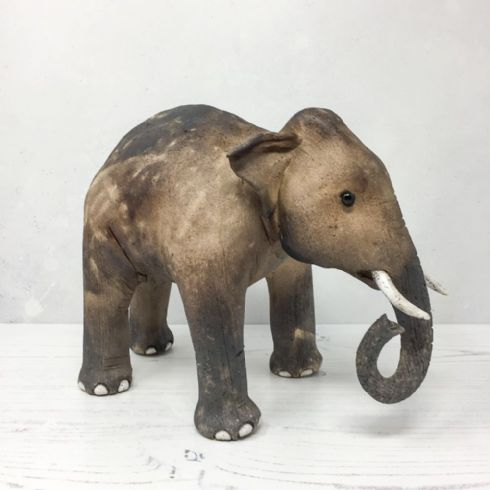 Virginia Dowe-Edwards Artist - Elephant II Sculpture